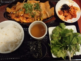 堂島グルメレポートvol.26(キムチ食べ放題本格韓国料理「冷麺館」)