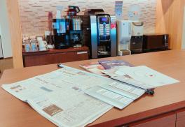 SYNTHビジネスセンター堂島の新聞・雑誌コーナーについて