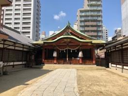 堀川戎神社に祈祷に行ってまいりました
