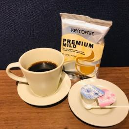 【SYNTH(シンス)堂島ブログ】期間限定コーヒー~キーコーヒー『プレミアムマイルド』~