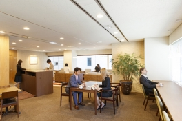【SYNTH(シンス)堂島ブログ】サービスオフィスSYNTH(シンス)堂島:ビジネスラウンジのご紹介