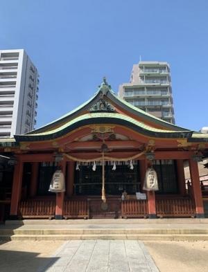 【SYNTH(シンス)堂島ブログ】を更新しました(堀川戎神社に祈祷に行ってまいりました!~2021~)