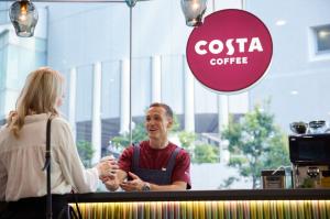 【SYNTH(シンス)西梅田ブリーゼタワーブログ】更新しました 併設カフェ コスタ コーヒースタンドのご紹介
