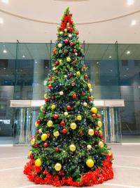 SYNTHブログを更新しました(クリスマスまで残り1カ月!SYNTHや堂島周辺もクリスマスの装いに!)